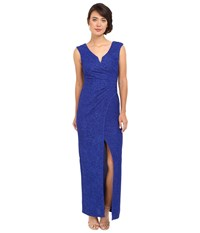 Rsvp Giselle Long Dress Cobalt Women's Dress Blue