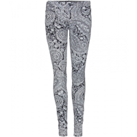 Mother The Looker Paisley Print Jeans Duchess By Day