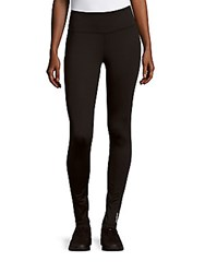 Reebok Solid High Waist Leggings Black