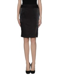 Diana Gallesi Knee Length Skirts Cocoa
