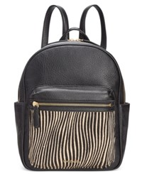 Vera Bradley Leighton Backpack Uptown Stripe
