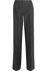Jason Wu Wool And Cashmere Blend Wide Leg Pants Dark Gray