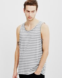 Cheap Monday Corrupt Stripe Tank White