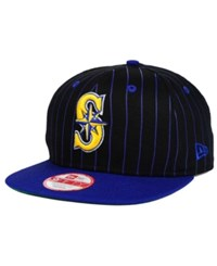 New Era Seattle Mariners Vintage Pinstripe 9Fifty Snapback Cap