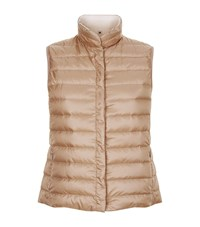 Max Mara Maxmara Weekend Osaka Quilted Gilet Female Brown