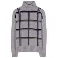 Loro Piana Killington Cashmere Turtleneck Sweater Grey
