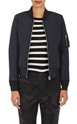 Vis A Vis Women's Padded Nylon Bomber Jacket Black