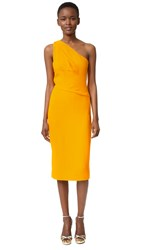 Narciso Rodriguez One Shoulder Dress Marigold