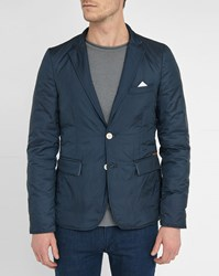 Knowledge Cotton Apparel Navy Pr Blazer