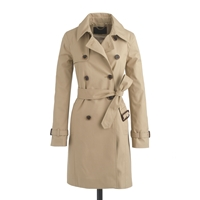 J.Crew Collection Icon Trench Coat Light Khaki