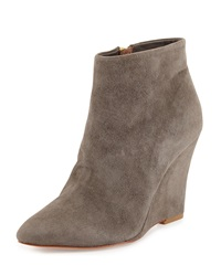 Jalena Pointed Toe Wedge Bootie Cinder Joie