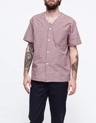 Pajama Shirt Pink Brown