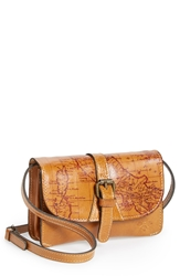 Patricia Nash 'Torri' Leather Crossbody Bag Rust