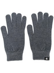 Paul Smith Ps By Knit Gloves Grey