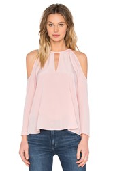 Amanda Uprichard Jasmine Top Pink