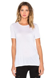 Craft And Commerce High Slit Tee White