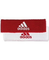 Adidas Men's Interval Climalite Reversible Headband Bright Red
