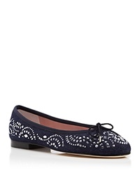 Paul Mayer Ballet Flats Banjo Bali Denim Stud Denim Chapas Silver