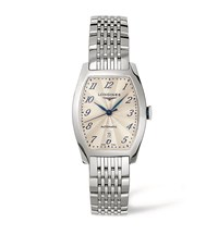 Longines Evidenza Collection Date Watch Unisex Silver