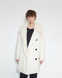 Christophe Lemaire Wadded Parka Cream