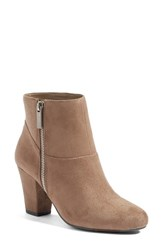 Bcbgeneration Women's 'Devvin' Ankle Bootie Taupe Suede