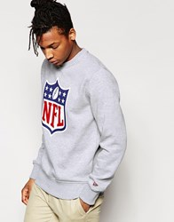 New Era Nfl Shield Sweatshirt Grey
