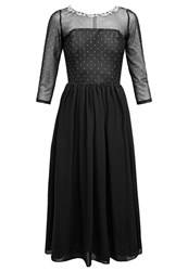 Swing Cocktail Dress Party Dress Black Silver