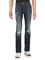 Cult Of Individuality Rebel Straight Leg Jeans Nash
