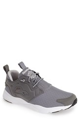 Men's Reebok 'Furylite' Sneaker Flat Grey Steel White Black
