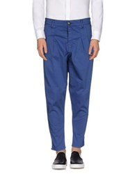Minimal Trousers Casual Trousers Men Blue