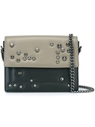 Steffen Schraut Studded Crossbody Bag Black