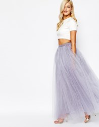 Little Mistress Maxi Tulle Skirt Duskylilac