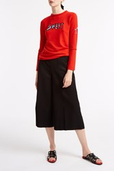 Bella Freud Sweet Merino Jumper Red