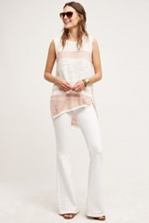 Anthropologie Mcguire Majorelle Flare Jeans Revival White 24 Pants