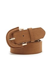 Forever 21 Faux Suede Buckle Belt