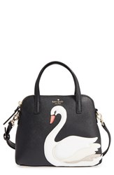 Kate Spade New York 'Swan Small Maise' Leather Satchel