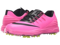 Nike Lunar Control 4 Pink Blast Volt Black Women's Golf Shoes