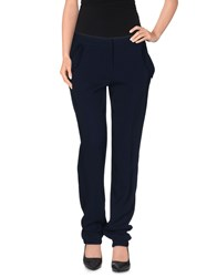 Matthew Williamson Trousers Casual Trousers Women Dark Blue