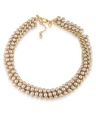 Carolee Union Square Choker Necklace Gold