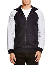 Sovereign Code Poker Quilted Hoodie Navy