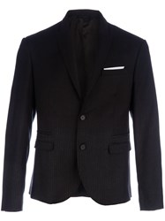 Neil Barrett Wool Blazer Black