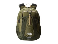 The North Face Recon Burnt Olive Green Military Green 1 Backpack Bags Orange