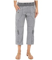 Xcvi Janan Crop Pants Mood Indigo Women's Casual Pants Navy