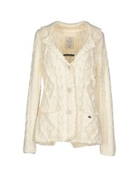 Replay Cardigans Ivory