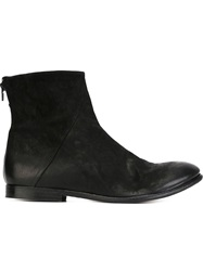 The Last Conspiracy Zip Ankle Boots Black