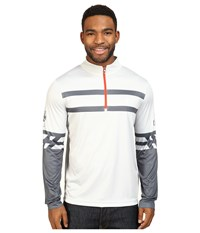 Spyder Heritage Dry W.E.B. T Neck Top Cirrus Polar Rage Men's Long Sleeve Pullover White