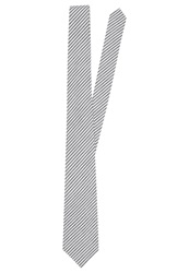 Pier One Tie Grey White