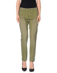 Current Elliott Trousers Casual Trousers Women Military Green