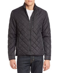 Cole Haan Diamond Quilted Jacket Black