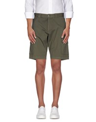 Paul And Shark Trousers Bermuda Shorts Men Military Green